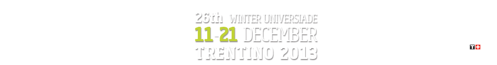 2013 Winter Universiade | Trentino - Italy